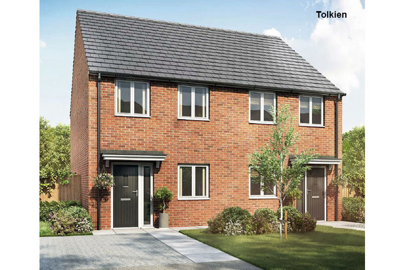 Shared ownership new build properties for sale in Stadium Road & Prestige Avenue, Hall Green, Birmingham. B28 8LH
