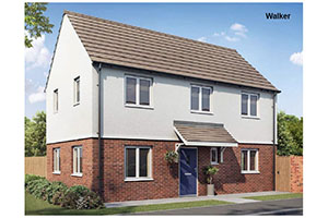 Shared ownership new build properties for sale in Stadium Road & Prestige Avenue, Hall Green, Birmingham. B28 8BF